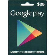 Google Play Card (US$25 / for US accounts only) (US)