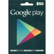 Google Play Card (USD 50 / for US accounts only) Digital digital (US)