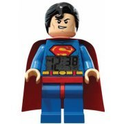 Lego Super Heroes Mini Figure Alarm Clock: Superman (US)
