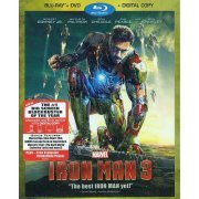Iron Man 3 [Blu-ray+DVD+Digital Copy] (US)