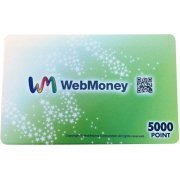 WebMoney - 5000 Point Card (Japan)