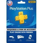 PSN Card 12 Month | PlayStation Plus US (US)