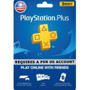 PSN Card 3 Month | PlayStation Plus US (US)