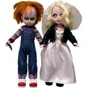 Living Dead Dolls Series Fashion Doll: Chucky & Tiffany 2-Pack