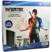 PlayStation3 Slim Console InFamous Collection (250GB Black) (US)
