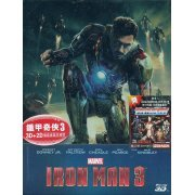 Iron Man 3 [3D+2D Steelbook Limited Editon] (Hong Kong)
