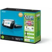 Wii U Suguni Asoberu Family Premium Set + Wii Fit U (32GB Black) (Japan)