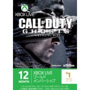 Xbox 360 Live 12-Month +1 Gold Membership Card (Call of Duty: Ghosts Edition) (Japan)