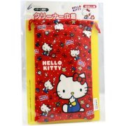 Hello Kitty Pouch for 3DS LL (Red) (Japan)