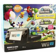 Wii U Limited Edition Mario & Luigi Deluxe Set (Black) (US)