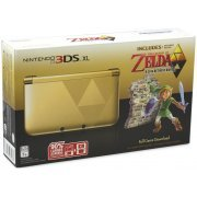 Nintendo 3DS XL (The Legend of Zelda: A Link Between Worlds - Black x Gold Limited Edition) (US)