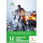 Xbox Live 12-Month +1 Gold Membership Card (Battlefield 4 Edition) (Europe)