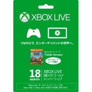 Xbox Live 18-Month Gold Membership Card [w/ Xbox Live Arcade Fable Heroes DLC] (Japan)