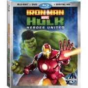 Iron Man & Hulk: Heroes United [Blu-ray+DVD+Digital Copy] (US)