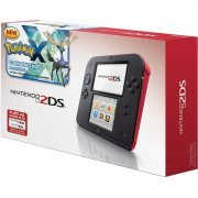 Nintendo 2DS (with Pokemon X Pre-Installed - Red/Black Edition) (US)