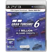 PSN Digital Download - Game Add-On (1 Million In-Game Credits - Gran Turismo 6) (Europe)