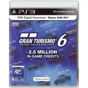 PSN Digital Download - Game Add-On (2.5 Million In-Game Credits - Gran Turismo 6) (Europe)
