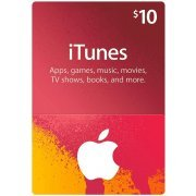 iTunes Card (US$ 10 / for US accounts only) (US)