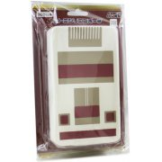 Retro Silicone Pouch for 3DS LL (FC White) (Japan)