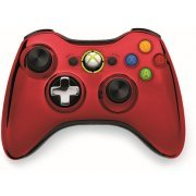 Xbox 360 Wireless Controller SE (Chrome Red) (Japan)