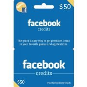 Facebook Card (USD 50 / for US accounts only) Digital (US)