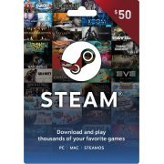 Steam Gift Card (USD 50) Steam Digital  steam (Region Free)