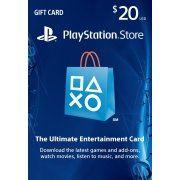 PlayStation Network 20 USD PSN CARD SA digital (Saudi Arabia )