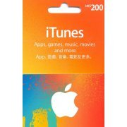 iTunes Card (HKD$ 200 / for Hong Kong accounts only) (Hong Kong)