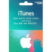 iTunes Card (HKD$ 500 / for Hong Kong accounts only) (Hong Kong)