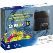 PlayStation 4 System - [2014 FIFA World Cup Brazil Limited Pack] (Japan)