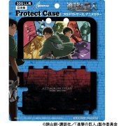 Shingeki No Kyojin Protect Case for 3DS LL (Anime Color) (Japan)