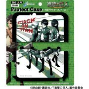 Shingeki No Kyojin Protect Case for 3DS LL (Army) (Japan)