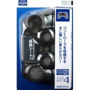 Silicon Cover 4 for Playstation 4 Controller (Black) (Japan)