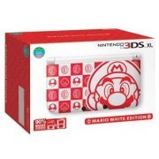 Nintendo 3DS XL Mario White Edition (US)