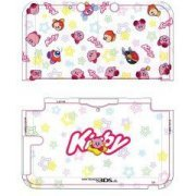3DS LL Character Hard Cover (Kirby & Star) (Japan)