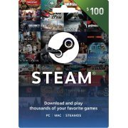 Steam Gift Card (USD 100) Steam Digital  steam digital (Region Free)