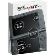 New Nintendo 3DS LL (Metallic Black) (Japan)