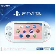 PS Vita PlayStation Vita New Slim Model - PCH-2000 (Light Pink White) (Japan)