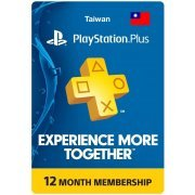 PSN Card 12 Month | Playstation Plus Taiwan  digital (Taiwan)