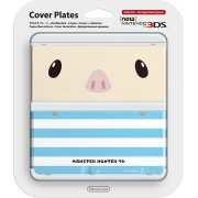 New Nintendo 3DS Cover Plates No.038 (Monster Hunter Poogie) (Japan)