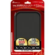 Semi Hard Case Slim for New 3DS (Black) (Japan)
