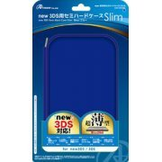 Semi Hard Case Slim for New 3DS (Blue) (Japan)