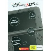 New Nintendo 3DS XL (Metallic Black) (Australia)