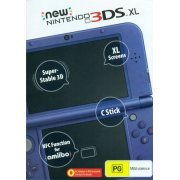 New Nintendo 3DS XL (Metallic Blue) (Australia)