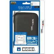 Slim Hard Pouch for New 3DS (Black) (Japan)
