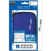 Slim Hard Pouch for New 3DS (Blue) (Japan)