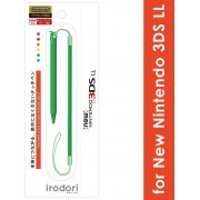 Touch Pen Leash for New 3DS LL (Green) (Japan)