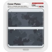 New Nintendo 3DS Cover Plates No.045 (Mario Camouflage Grey) (Japan)