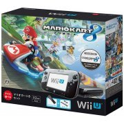 Wii U Mario Kart 8 Set (32GB Black) (Japan)
