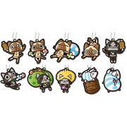 Monster Hunter Airou Rubber Mascot Collection (Set of 10 pieces) (Japan)